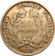 Francja, 10 franków 1851 r. A