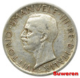 5.WŁOCHY, VITT.EMANUEL III, 5 LIRÓW 1927