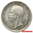 4.WŁOCHY, VITT.EMANUEL III, 5 LIRÓW 1927