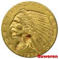 13.USA, 2 1/2 DOLARA 1926