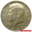 23.USA, 1/2 DOLARA 1967
