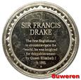 3.USA, MEDAL - sir FRANCIS DRAKE 1580