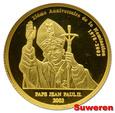 8.cu.CONGO, 20 FRANKÓW 2003 JAN PAWEŁ II ... GCN PR70