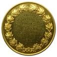 FRANCJA, ZŁOTY MEDAL TOWARZYSTWA FARMACEUTÓW 1863