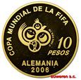 ch.ARGENTYNA, 10 PESOS 2004 MUNDIAL - NIEMCY '06
