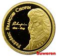 5.cu.WYBRZEŻE KOŚCI SŁONIOWEJ, 1 500 FRANKÓW 2007 F.CHOPIN