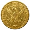 27.USA, 5 DOLARÓW 1880