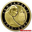 13.cu.III RP, 100 ZŁOTYCH 2005 JAN PAWEŁ II 1920-2005