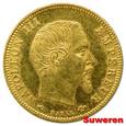 1.FRANCJA, NAPOLEON III, 5 FRANKÓW 1859 A