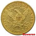 15.USA, 5 DOLARÓW 1905