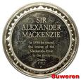 2.USA, MEDAL - sir ALEXANDER MACKENZIE 1789
