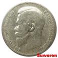 10.ROSJA, MIKOŁAJ II, 1 RUBEL 1899 FZ