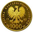 PRL, 1 000 ZŁOTYCH 1982 JAN PAWEŁ II rzadka  1,700 szt.!!!