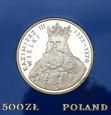 PRL, 500 złotych, 1987, Kazimierz III Wielki