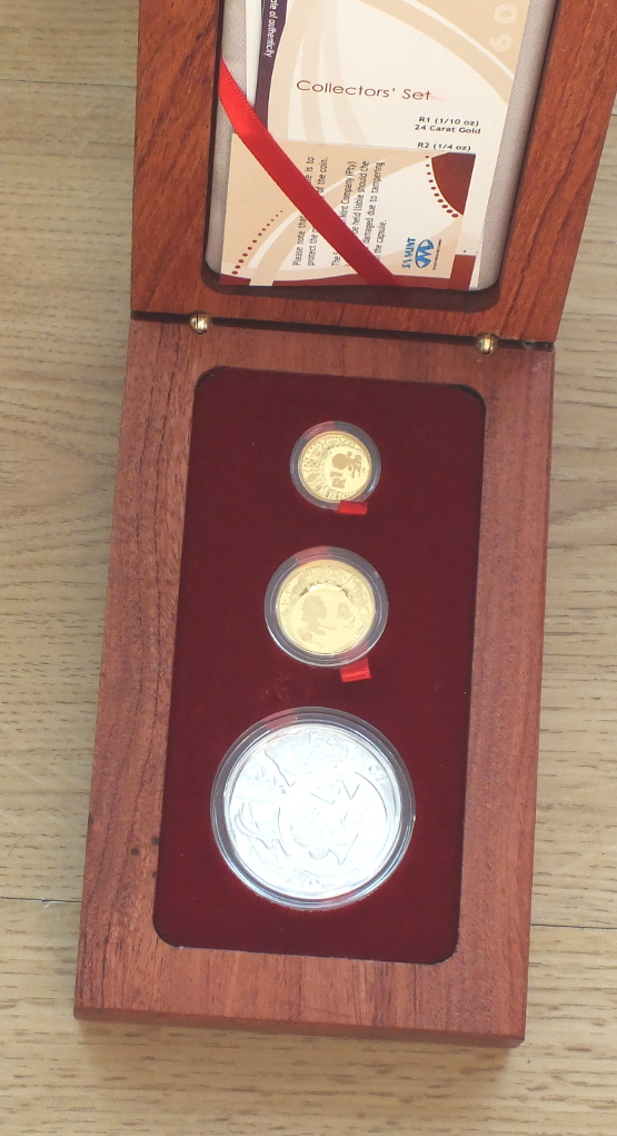 Set of coins (2009) FIFA 2010 Republic of South Africa