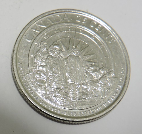 KANADA 25 cents 2013 Arctic Expedition