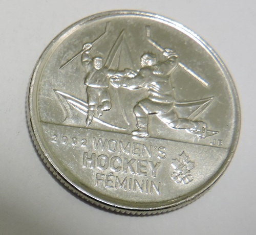 KANADA 25 cents 2009 Womens Hockey