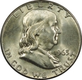 HALF DOLLAR 1963 D - FRANKLIN - STAN (1-) - USA390