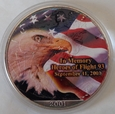 USA - 1 DOLAR - 2001 - WTC 9/11 - IN MEMORY HEROES